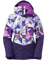 The North Face W NFZ Insulated Jacket - Chaqueta para mujer, color morado, talla M