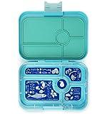 Yumbox Tapas XL - Bento Box für Erwachsene & Teenager (Antibes Blue, 5er Bon Appetit) - Brotdose mit Fächern | Lunchbox mit Trennwand Einsatz | Brotbox für Uni & Arbeit