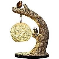 ZYCkeji Zart Harz Tischlampe, Zen Tischlampe kreative chinesische Lampe Nachttischlampe dekorieren Wohnzimmer... preisvergleich bei billige-tabletten.eu