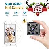 Mini Kamera,FLYLINKTECH Full HD 1080P Wireless WiFi Mini Cam mit Nachtsicht und Bewegungserkennung
