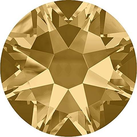 Swarovski Crystal soporte de espalda/brillantes * ss3-ss48* clear-ab-jet * non-no Hotfix * Pequeño & al por mayor paquetes, Light Colorado Topaz (246), SS20 - 50 Crystals