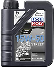 Liqui Moly 15W50 4T Street Synthetic Technology Engine Oil (1 Litre) (LM030)