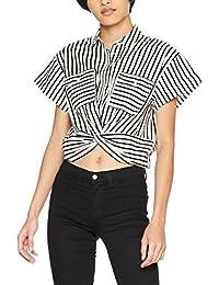 Mavi Damen Bluse Striped Shirt