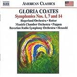 Gloria Coates: Symphonies N° 1, 7 Et 14