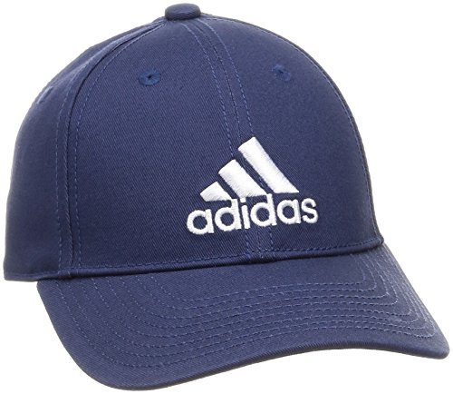 adidas Erwachsene 6 Panel Cotton Kappe Noble Indigo/White, OSFY