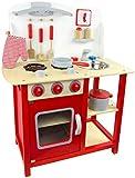 Cocina de juguete con accesorios Cocina de juguete de madera - CLASSIC