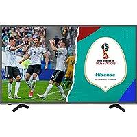 Hisense HE43K300UWTS - Televisor 4K Ultra HD de 43'' (16:9, 3840 x 2160 Pixeles, HDMI, Wifi), color negro