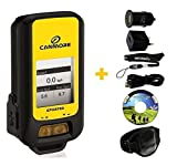 G-PORTER GP-102+ GPS- MULTIFUNKTIONSGERÄT (gelb) MAXI SET mit Armband, USB Netzteil und KFZ-Adapter