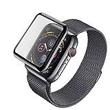 Weich Panzerglas Schutzfolie für Apple Watch Series 4 40mm [Ultradünne, 9H-Härte,...