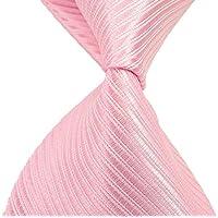Nuovo classico a righe rosa solido tessuto