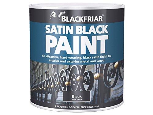 blackfriar-bkfsb250-250-ml-paint-for-wood-and-metal-satin-black