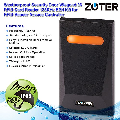 Zoom IMG-1 zoter impermeabile ip65 access control