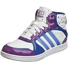 separation shoes a1a37 4d7ac adidas - Pantofole a Stivaletto Bambina Unisex - Bambino Donna Bambino,  Multicolore (Bianco)