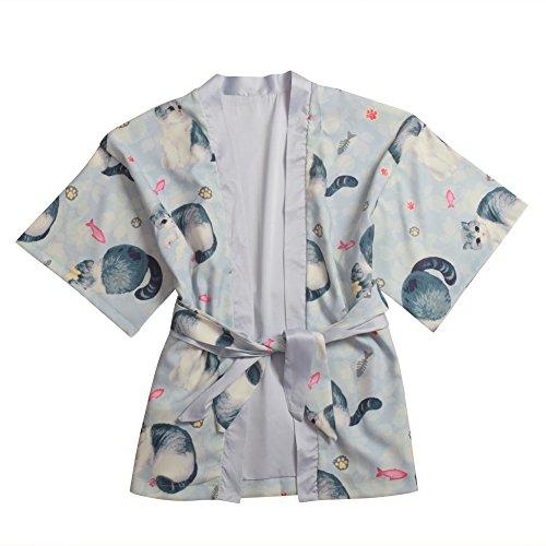 BLZ Festival Kimono Yukata Und p (Katze Larp Kostüm)