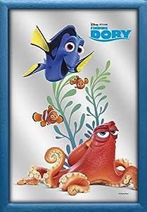 Finding Dory v829395Espejo de Pared Happy Dory, Azul