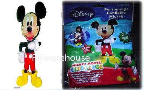 Mickey Mouse aufblasbare Disney Character Large Blow Up Kids toy52cm