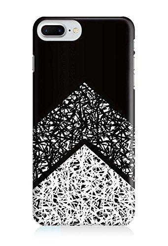 COVER Pfeil Arrow Grafik Muster grau schwarz Design Handy Hülle Case 3D-Druck Top-Qualität kratzfest Apple iPhone 6 6S