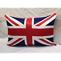 Luxury Home Decor qualità Union Jack in finta seta di