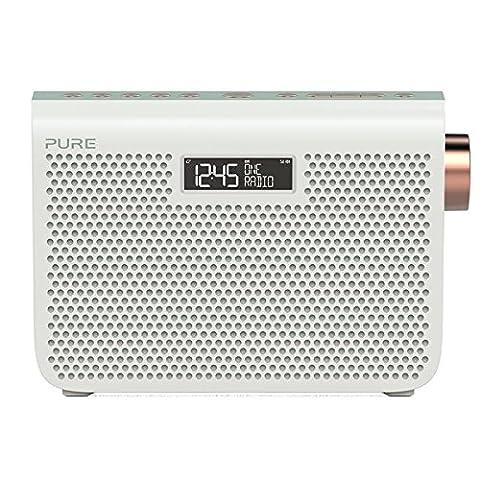 Pure One Midi S3s Portable Digital DAB/DAB+ and FM Radio with Alarm - Jade White