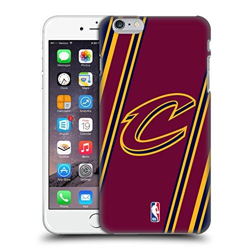 Offizielle NBA S&W Marmor Cleveland Cavaliers Ruckseite Hülle für Apple iPhone 6 / 6s Streifen