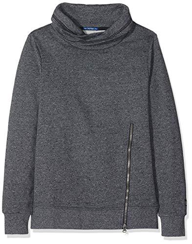TOM TAILOR Kids Jungen Placed Print Sweatshirt, Grau (Vulcan Gray 1057), 152 -