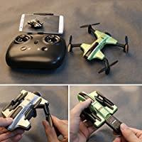 oofay Drone And Camera Pressure Set Mini Drone Folding Four Axis Aircraft Boy Gift