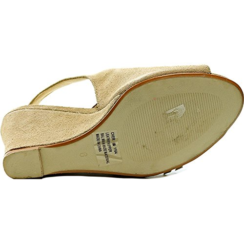 Wildleder Cher Keilabsätze Natural Sandale Chinese Laundry Y6Zw88