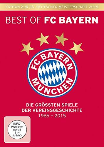Bild von Best of FC Bayern München - Die größten Spiele der Vereinsgeschichte (6-DVD-Box) Edition zur 25. Deutschen Meisterschaft 2015