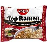 Nissin Top Ramen Rind, 10er Pack (10 x 85 g Beutel)