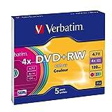 Verbatim 43297 - DVD+Rw, 4.7 GB