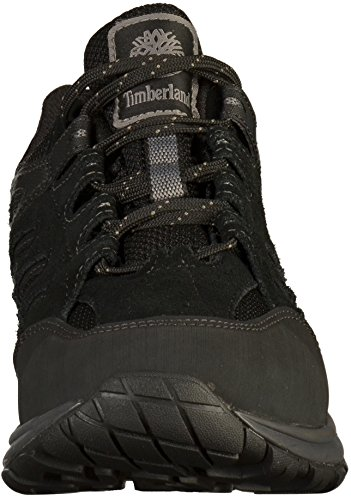 Timberland saddler Pass Fabric and Leather WP, Richelieus Homme Noir