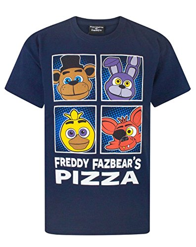 FIVE NIGHTS AT FREDDY'S -  T-shirt - Maniche corte  - ragazzo Blue 11-12 Anni