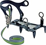 Edelrid Steigeisen 6 Point Grödel, lead, One Size, 719010001530