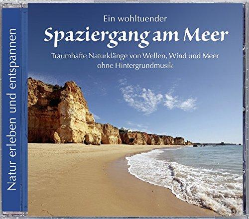 Spaziergang am Meer. Traumhafte Naturklänge von Wellen, Wind und Meer. Ohne Hintergrundmusik