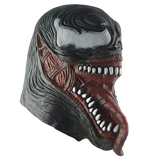 JUFENG Spider-Man Masken Cosplay Spandex Kopfbedeckung Terror Dark Women Men