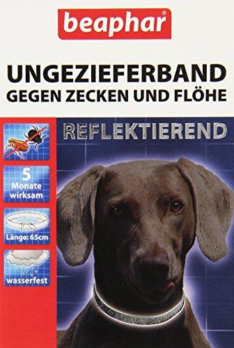 Artikelbild: Beaphar 75425 Ungezieferhalsband für Hunde reflektierend, 65 cm