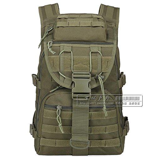Militärische Fans Schulter Taktischen Angriff Tasche, Tarnung Computer - Tasche, Männer Und Frauen In Der Tasche - 40L Wander - Tasche Army green