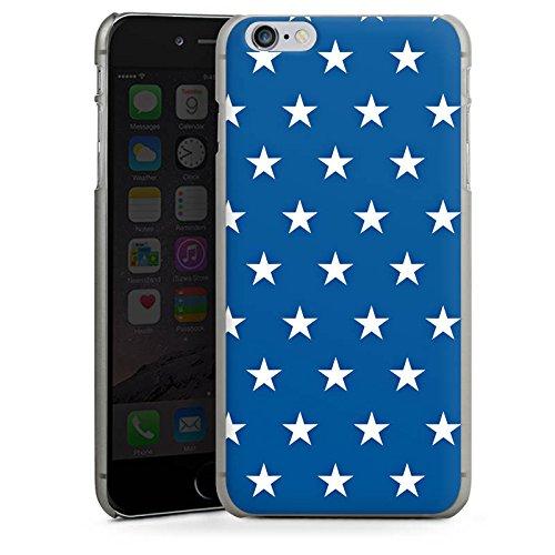 Apple iPhone 5s Housse Étui Protection Coque Étoiles Marine Bleu CasDur anthracite clair