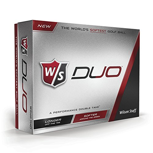 Wilson Staff Duo Balles de golf (lot de 12)