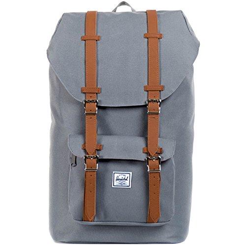 Little America Backpack grey/tan