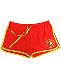 Baywatch Damen-Shorts Rot/Gelb