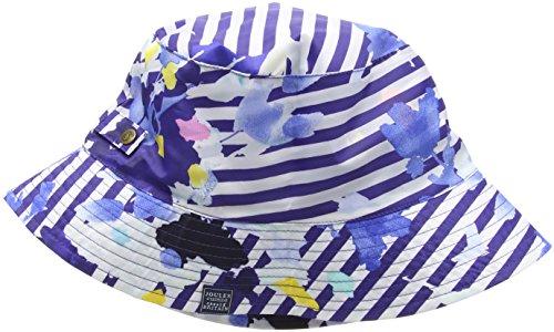 Joules Rainy Day, Chapeau Bob Femme Multicoloured (Multi Floral Stripe)
