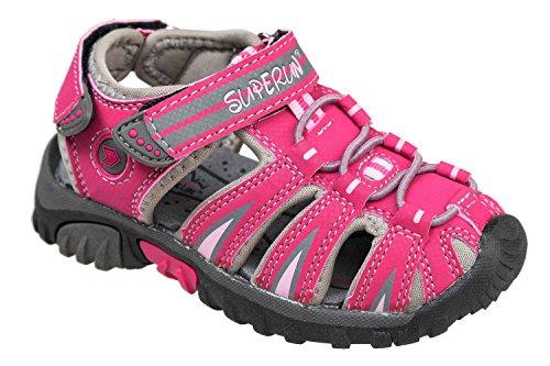 GIBRA® Trekkingsandalen für Kinder, mit Klettverschluss, pink, Gr. 36