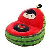 IIWOJ Halloween Weihnachtsgeschenk Kindersitz Plüsch Wassermelone Sofa