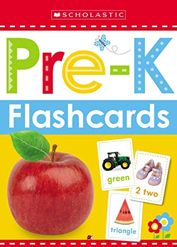 Write and Wipe Flashcards: Get Ready for Pre-K (Scholastic Early Learners) por Scholastic