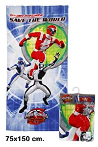 NRI - Beach Towel Power Rangers