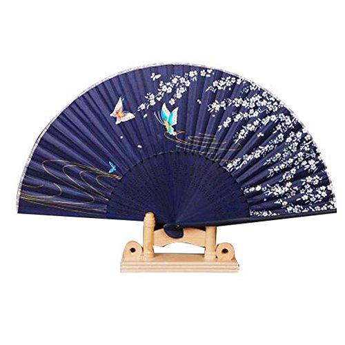 Täglicher Tanz-Fan Klassischer faltender Fan Chinesischer / japanischer Weinlese-Retro Art