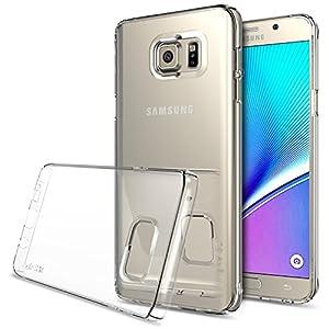 Galaxy Note 5 Funda Ringke SLIM Cobertura Total de los 4 Sides and Back GRATIS Pedregal Protector CRYSTAL Super Slim Ligera todo momento la protecci n del estuche r gido para Samsung Galaxy Note 5