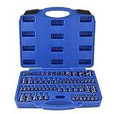 Master Torx Steckschlüssel-Set, 60-teilig, manipulationssicher, Torx Sternnuss-Bits, Werkzeug-Set, 6,35 mm, 0,95 cm, 1,27 cm Antrieb