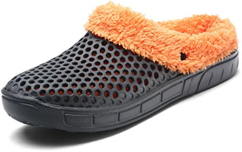 DIERDI Mens Und Herren Hausschuhe Baumwolle Flip Flops Outdoor Hausschuhe Hausschuhe